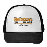 Motocross Pit Crew Trucker Hat
