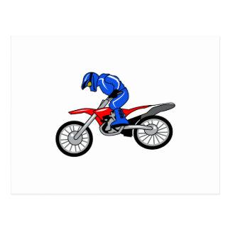 Motocross Postcard