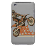 Motocross racer barely there iPod cover