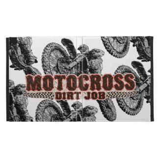 Motocross racer iPad folio cases