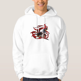 Motocross racer hoodie