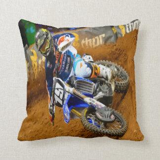 Motocross Racing Pillow