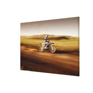 Motocross Rider 2 Canvas Print