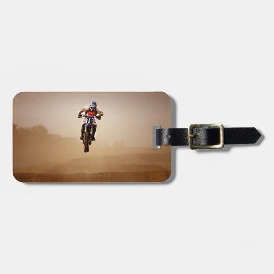 Motocross Rider Bag Tag