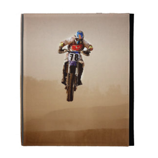 Motocross Rider iPad Case