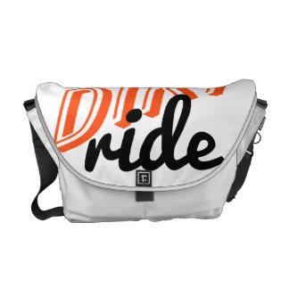 Motocross rider messenger bag