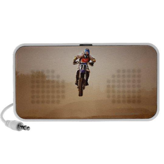 Motocross Rider Mini Speaker