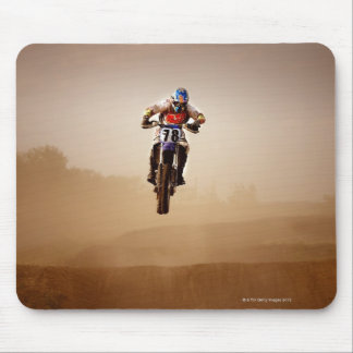 Motocross Rider Mouse Pad