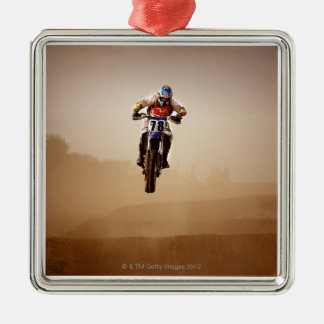 Motocross Rider Christmas Tree Ornaments