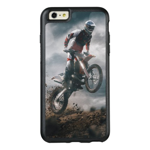Motocross rider OtterBox iPhone 6/6s plus case