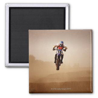 Motocross Rider Refrigerator Magnet