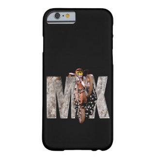 Motocross rider shattering the rock mx barely there iPhone 6 case