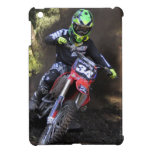 Motocross rider tearing up the track cover for the iPad mini
