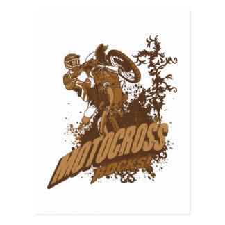 Motocross Rocks! Postcard