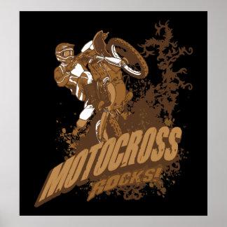 Motocross Rocks! Poster