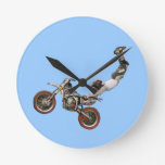 motocross round clocks