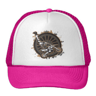 Motocross Stunt Trucker Hat