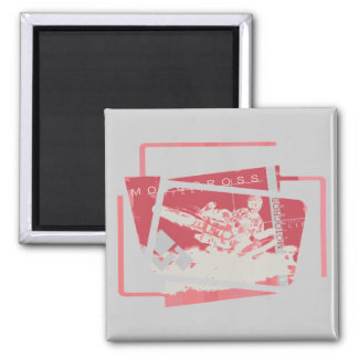 Motocross T-shirts and Gifts 2 Inch Square Magnet