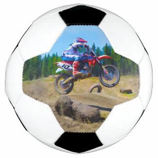 Motocross-themed Football Soccer Ball