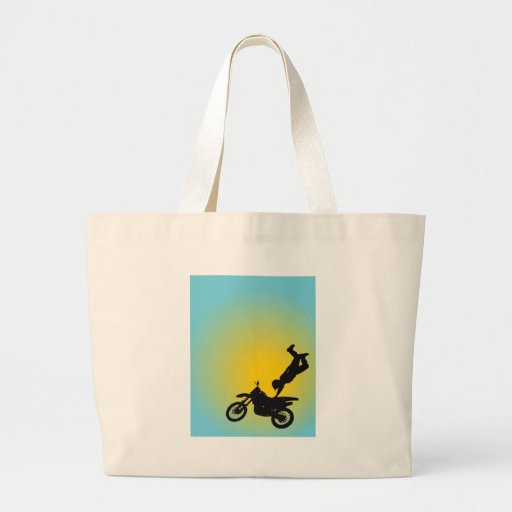 Motocross Tote Bags
