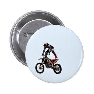 Motocross Tricks Pinback Button