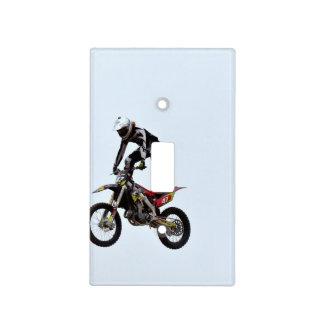 Motocross Tricks Light Switch Cover