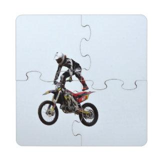 Motocross Tricks Puzzle Coaster