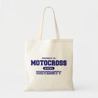 Motocross University Tote Bag