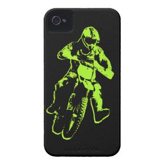 Motocross verdes iPhone 4 cárcasas