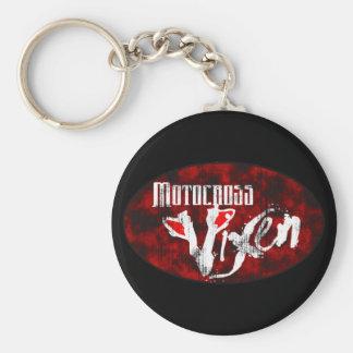 Motocross Vixen Keychain