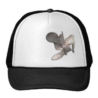 Motocross Whip; Cool Black Trucker Hat