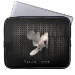 Motocross Whip; Cool Black Laptop Sleeves
