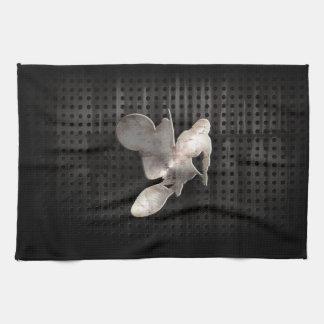 Motocross Whip; Cool Black Towel