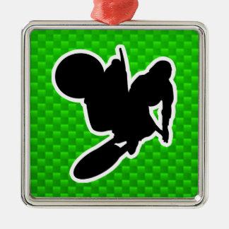 Motocross Whip Metal Ornament