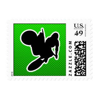 Motocross Whip Postage Stamp