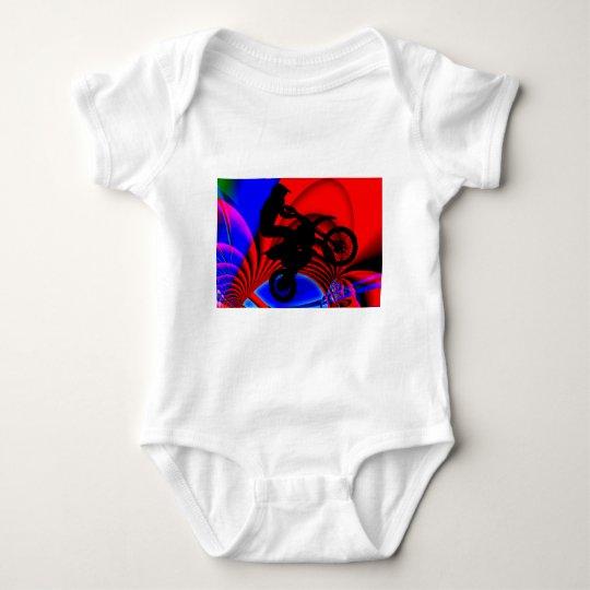 Motocrossing Going Loopy Baby Bodysuit
