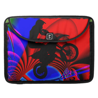 Motocrossing Going Loopy Sleeve For MacBooks