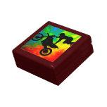 Motocrossing in a Solar Flareup Trinket Box