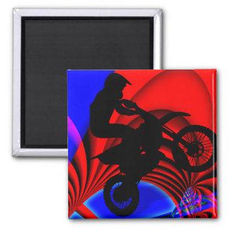Motocrossing que va Loopy Iman Para Frigorífico