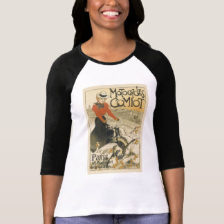 Motocycles Comiot By Theophile-Alexandre Steinlen T-shirts