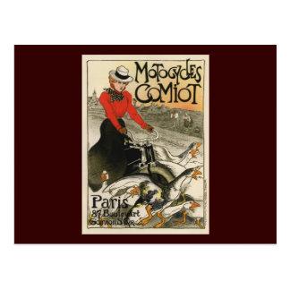 Motocycles Comiot Postcard