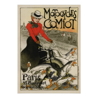Motocycles Comiot Posters