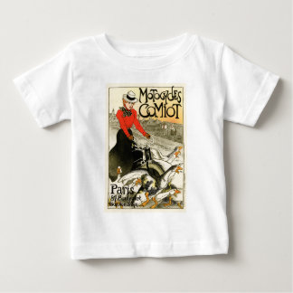 Motocycles Comiot, Steinlen Baby T-Shirt
