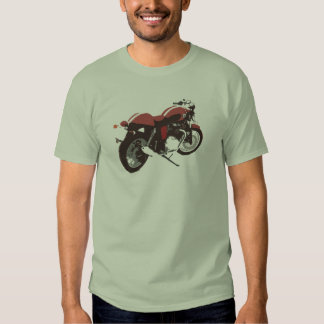 motocylce del corredor del café playeras