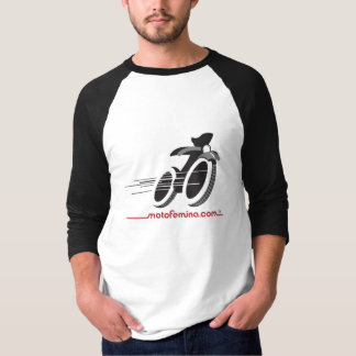 MotoFemina 3/4 Sleeve Raglan T-Shirt