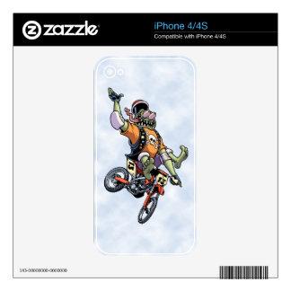 Motogross Decal For iPhone 4