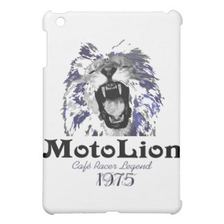 MotoLion Cafe Racer Legend iPad Mini Covers