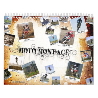 MotoMontage Calendario De Pared