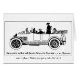 Motor 1916 de Chalmers Co., tarjeta de felicitació