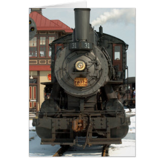 Motor 31 del ferrocarril de Strasburg Tarjeta De Felicitación